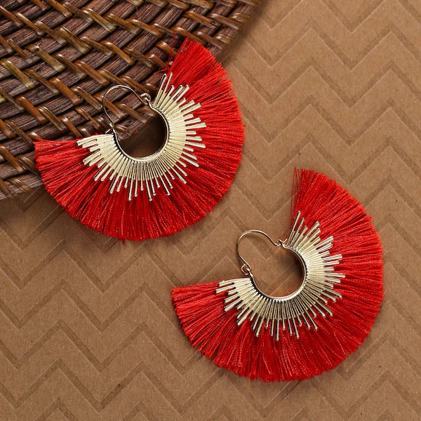 Irregular Round Tassel Earrings Aretes De Mujer 2020 Dangle Drop Gold Korean Earring Pendientes Accesorios Mujer Orecchini Donna