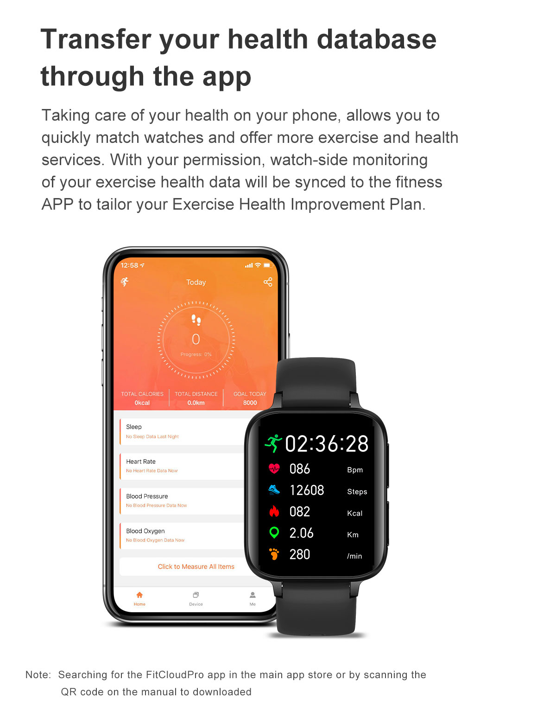 tela hd ecg bluetooth chamada smartwatch masculino