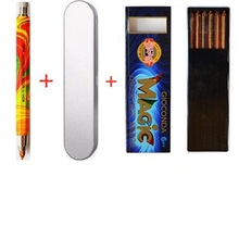 KOH-I-NOOR 5340 Magic Rainbow Mechanical Pencil With Extra Refills 5.6mm And Metal Case