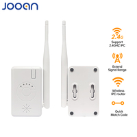 JOOAN WiFi Range Extender Wireless Repeater IPC Router für Wired NVR System Home Security IP Kamera unterstützung 2,4 Ghz IPC