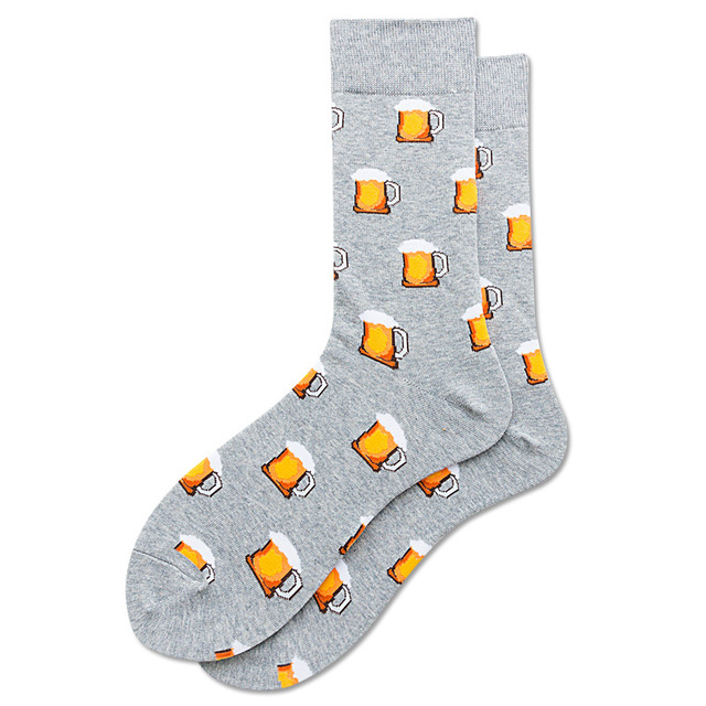Happy Socks 44 Designs Colors Striped Plaid Diamond Cherry Socks 2