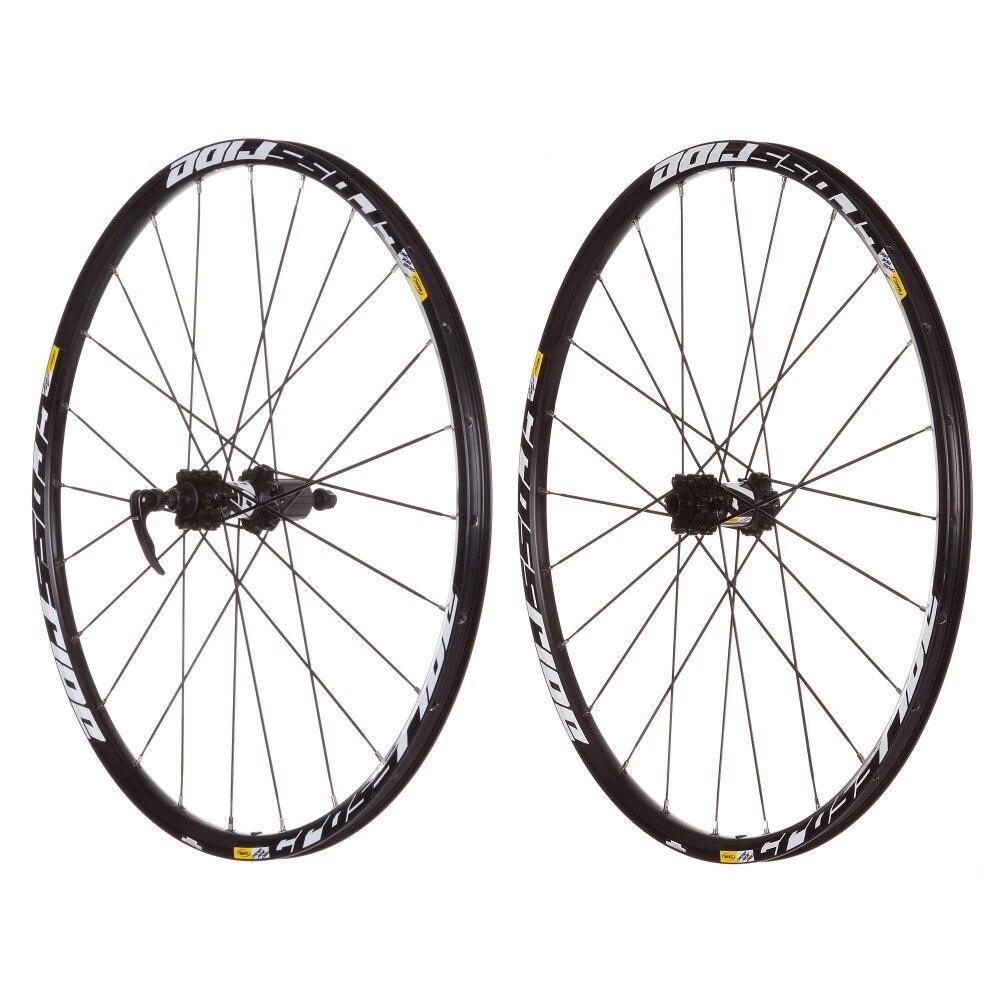 MEROCA MTB bicicleta de montaña, rodamiento sellado, rueda de disco de Cross Ride, rueda de 26 pulgadas, seis agujeros, bloqueo Central, llanta 27,5 29 - 2