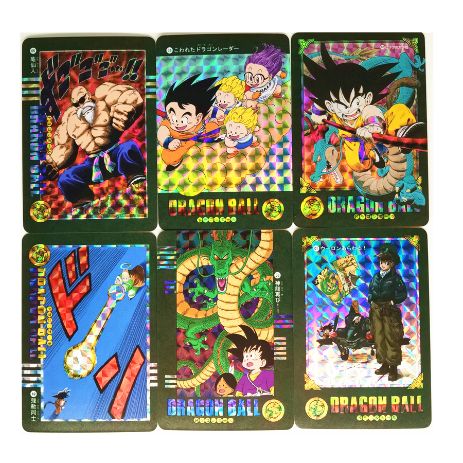 54pcs/set Super Dragon Ball Z Stormy Situation Heroes Battle Card Ultra Instinct Goku Vegeta Game Collection Cards