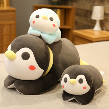 цена Lovely Big Soft Fat Penguin Plush Toys Stuffed Cartoon Animal Doll Fashion Toy for Kids Baby Cute Girls Christmas Birthday Gift онлайн в 2017 году