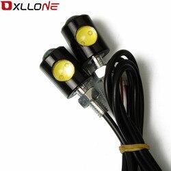 Włącz sygnał motocykl w lampka sygnalizacyjna światło kierunkowskazu motocykla LED uniwersalny dla SUZUKI GSX1400 GSF650 GSF1200 GSF1250 BANDIT