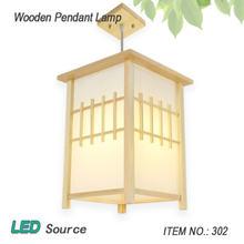 Винтажный подвесной светильник из дуба в стиле ретро светодиодсветодиодный