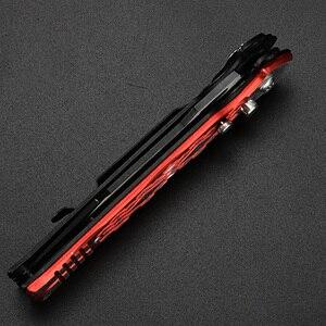 Image 4 - XUAN FENG Rot Outdoor Klappmesser Bereich Camping Taktische Unterstützung Messer Hohe Qualität Stahl Jagd Messer