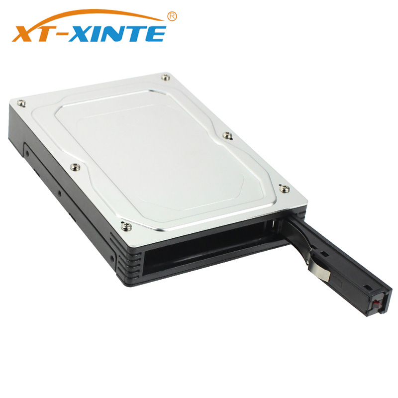 XT-XINTE Storage Enclosure 2.5 To 3.5 Inch Converter Box SATA III 6Gbps External Mobile Rack For 2TB 2.5