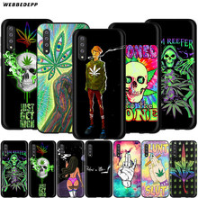 Webbedepp Abstractionism Art High Weed Case for Samsung Galaxy A2 J4 J6 J7 Duo J8 Core Prime 2018 A20E A70S(China)