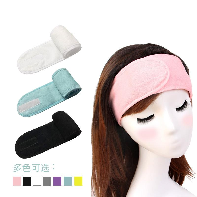 1PC Velcro Hair Wash Hoop Sports Yoga Headscarf Head Bands Women's Hair Accessories HeadWear