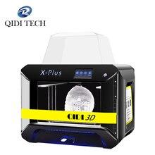 QIDI TECH طابعة ثلاثية الأبعاد X Plus كبيرة الحجم الذكية الصناعية الصف mpresora ثلاثية الأبعاد واي فاي وظيفة عالية الدقة طباعة facesheild