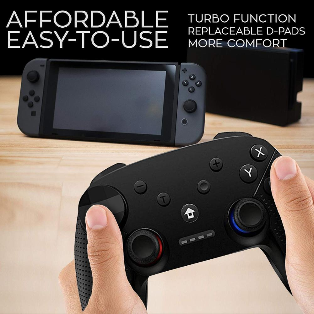 Switch Pro Game Controller Video Game Accessories Joystick For Nintendo Switch Pro Controller