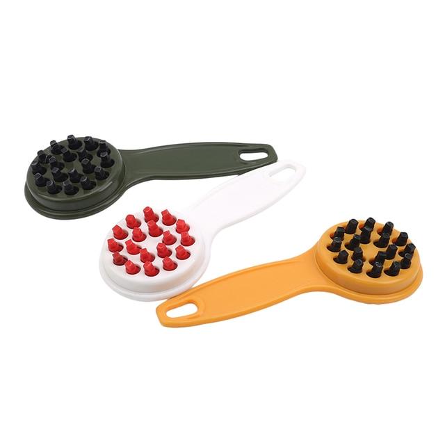 Fish Skin Brush Scraping Fishing Scale Brush Graters Fast Remove Fish knife Cleaning Peeler Scaler Scraper Kitchen Tools Gadget|Seafood Tools|   -