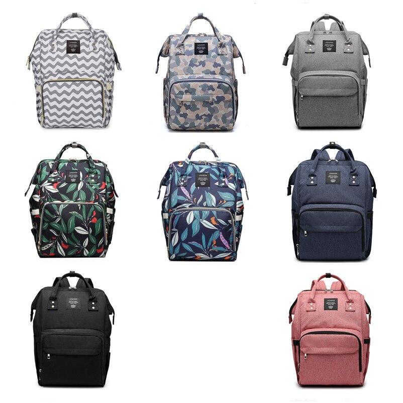 Diaper Bag Nappy Bag Waterproof Mom Maternity Travel Backpack Designer Nursing Bag