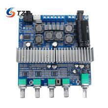 TZT TPA3116D2 Bluetooth 4.2 Digital 2.1 Audio Amplifier Board DC 12 24V 100W+50W+50W