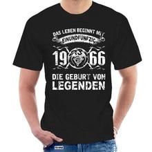 Männer T-shirt DAS LEBEN BEGINNT MIT 1966 STERBEN GEBURT VO Frauen t-shirt @ 047268