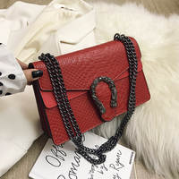2019 New Shoulder Bag Chains Messenger Bag Fashion Girls Casual Handbag Simple Leisure