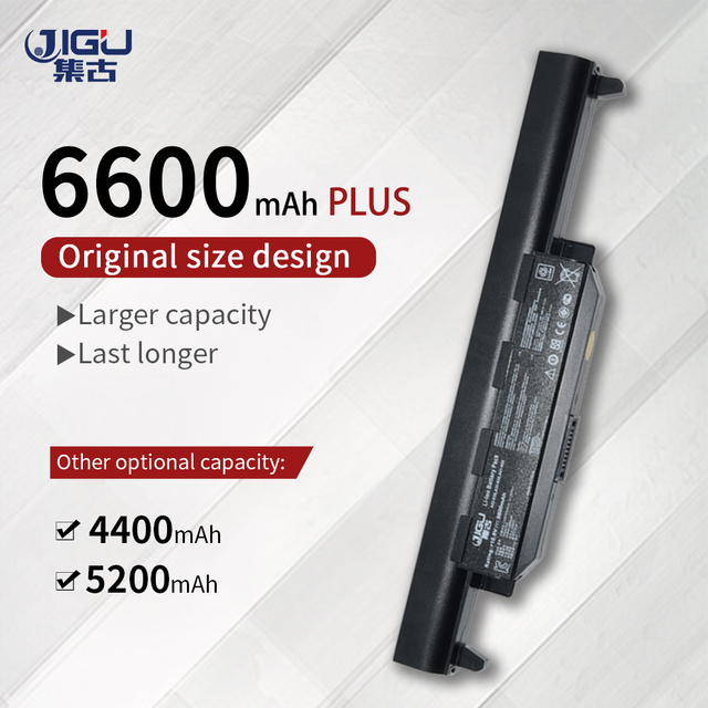 JIGU بطارية لابتوب أسوس A32 K55 X55U X55C X55A X55V X55VDX75V X75VD X45VD X45V X45U X45C X45A U57VM U57A U57V U57VD R700VM