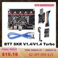 BIGTREETECH BTT SKR V1.4 SKR V1.4 Turbo 32-битная плата управления WIFI модуль DCDC TMC2209 3d части принтера для ender3 vs SKR V1.3