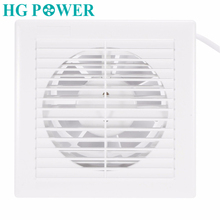 110V 220V 6inch 14W Home Ventilation Exhaust Fan Wall Mount Low Noise Bathroom Kitchen Air Vent Ventilation Fans Plastic ABS