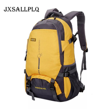 JXSALLPLQ Mens Nylon Backpack Waterproof Outdoor Sports Camping Travel Hunting Mountaineering Riding