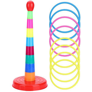 Ring-Toys Garden-Pool-Toy Hoop Toss-Game-Set Sport-Ring Plastic Kids Child for Colorful