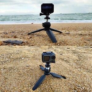 Image 2 - Mini trípode portátil con rotación de 360 grados, palo de Selfie para iPhone, Huawei, P30 Pro, GoPro Hero 7/6/5