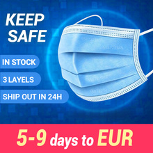 Disposable Mask Mouth Mask  Face Mask 3 Layer Safety Mask
