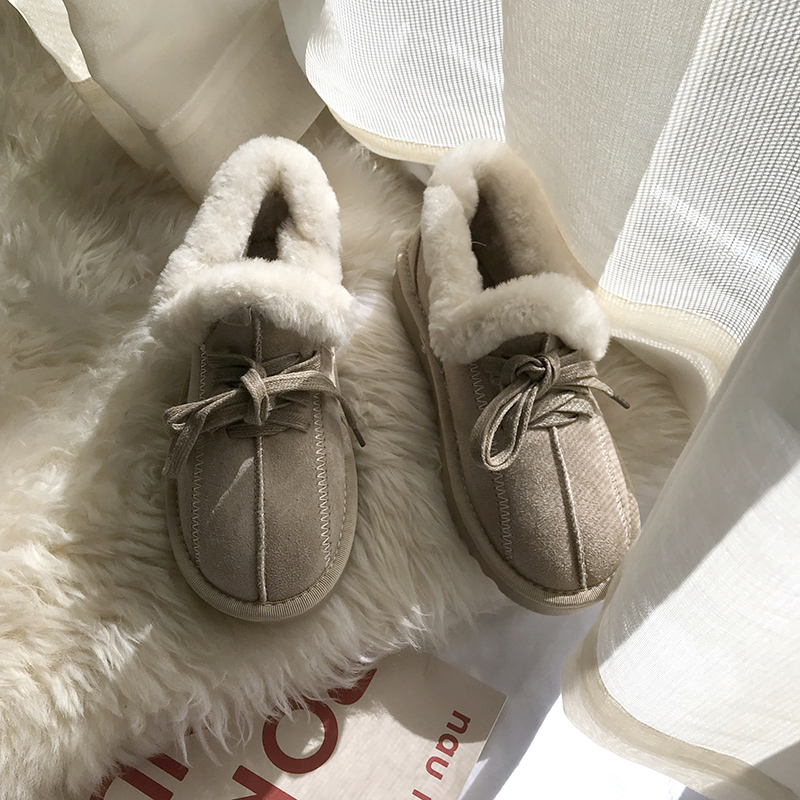 2019 New Arrival Winter Boot Pink Solid Color Fashion Casual Fur Warm Comfortable High Quality Fashion Women Winter Shoes 41