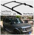 Для Land Rover Discovery 4 LR4 2010-2017 багажник на крышу поперечная багажная Стойка Высокое качество алюминиевый сплав Материал аксессуары