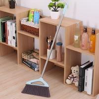 Broom Dustpan Set Wiper Blade Broom Combination Toilet Plastic Sweeping Broom Household Magic Floor Wiper Useful Product