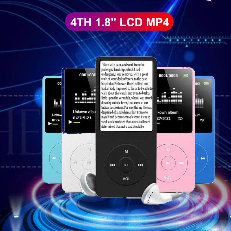 Портативный MP4-плеер MX892 с ЖК-дисплеем 1,8 дюйма для Ipod, музыкальный плеер, Fm-радио, портативный цветной mp3-плеер, музыкальное видео