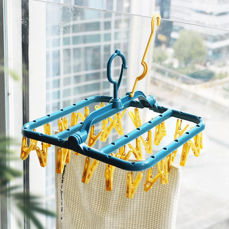 Thickened Petal Shape Creative Hangers Organizer Scarf Belt Tie Scarf Plastic Storage Rack Space Saving Wet And Dry Clothes Rack