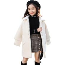 Girls Coat Winter Jacket Teenage Outerwear Patchwork Autumn Kids for 6/8/10/12-14