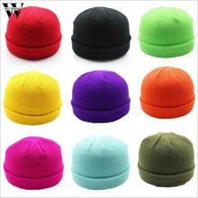 Womail Knitted Beanie hat Unisex Winter Warm Knitted Wool Hat Women men coat Casual Wool Soft Skull Cap Ski Caps Outdoor P910(China)