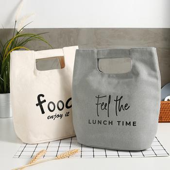 Insulated Heat Lunch Bags Thermal Women Picnic Bento Box Boys Thermo Pouch Fresh Keeping Food Container Accessory Product Items - discount item  41% OFF Special Purpose Bags