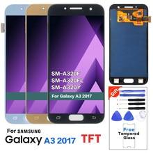 For Samsung Galaxy A3 2017 A320 SM-A320F LCD Screen A320FL A
