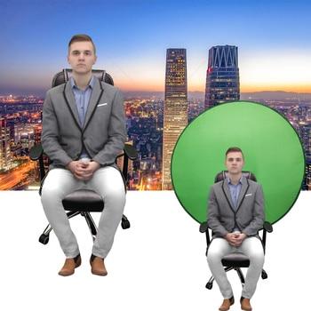 Green screen καρέκλας αναδιπλούμενο για streaming και τηλεδιασκέψεις 142cm