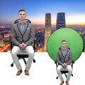 Зеленый экран фоны для фотографии портативный складной отражатель для прямой трансляции YouTube видео студии круглый 142 см 56 дюймов