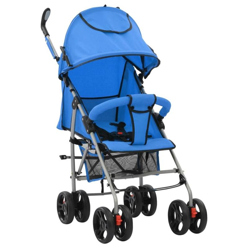 Baby stroller 2in1 Folding Pram ultra-light portable four wheel shock absorbers child summer folding umbrella cart