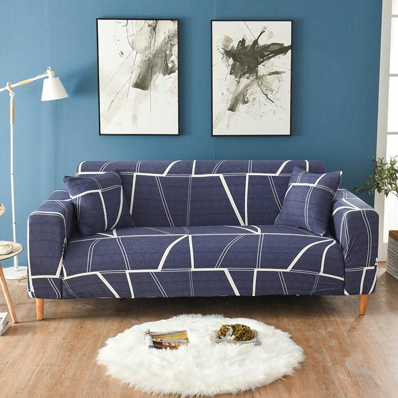 Midnight Blue sofa cover