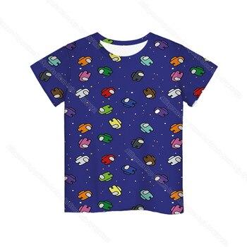 Cartoon Tee  Baby Kids Boys Girls Children Short Sleeves Summer Clothing Fashion 3d Print Toddler Camiseta 23