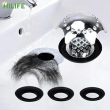 Заглушка для слива душа предотвращает засорение волос заглушка для ванной Сливная крышка для раковины аксессуары для фильтра раковины