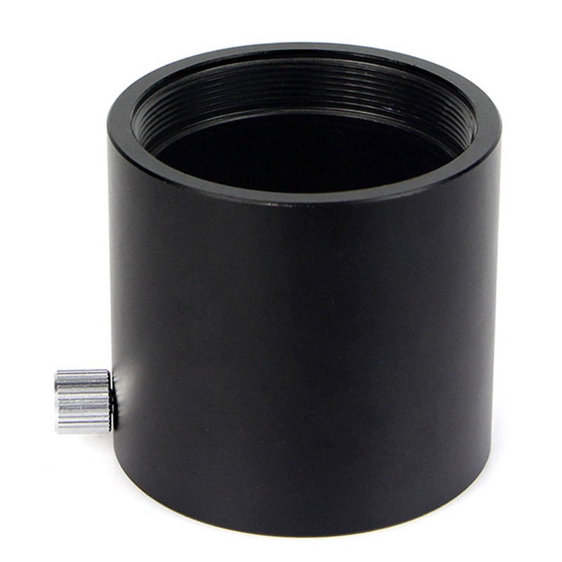 Straight Through 2 Inch SCT Astronomy Telescope Adapter For Schmidt-Cassegrain Monocular Brass Compression Ring