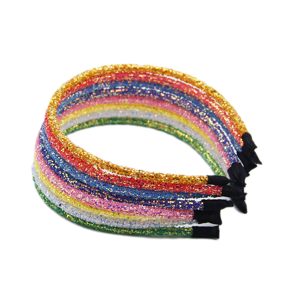 David Accessories Glitter Headband With Beads Hair Band For Kid Girls Bath Make Up Diy Decoration Crafts Accessories 1yc8455 Diy Craft Supplies Aliexpress