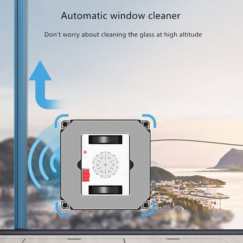 Mobile App Control Robot Window Cleaner for Automatic and Quick Window Glass Cleaning 3