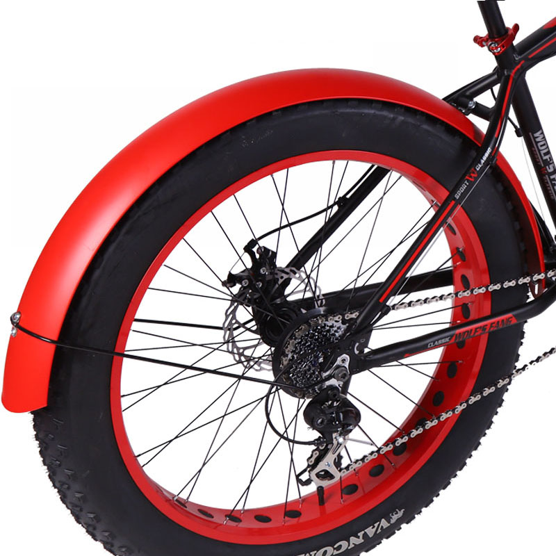 Bicycle Mountain Bike  Road Snow Fat Speed Bikes Accessories 26*4.0 Fender Full Coverage New Product Free Shipping