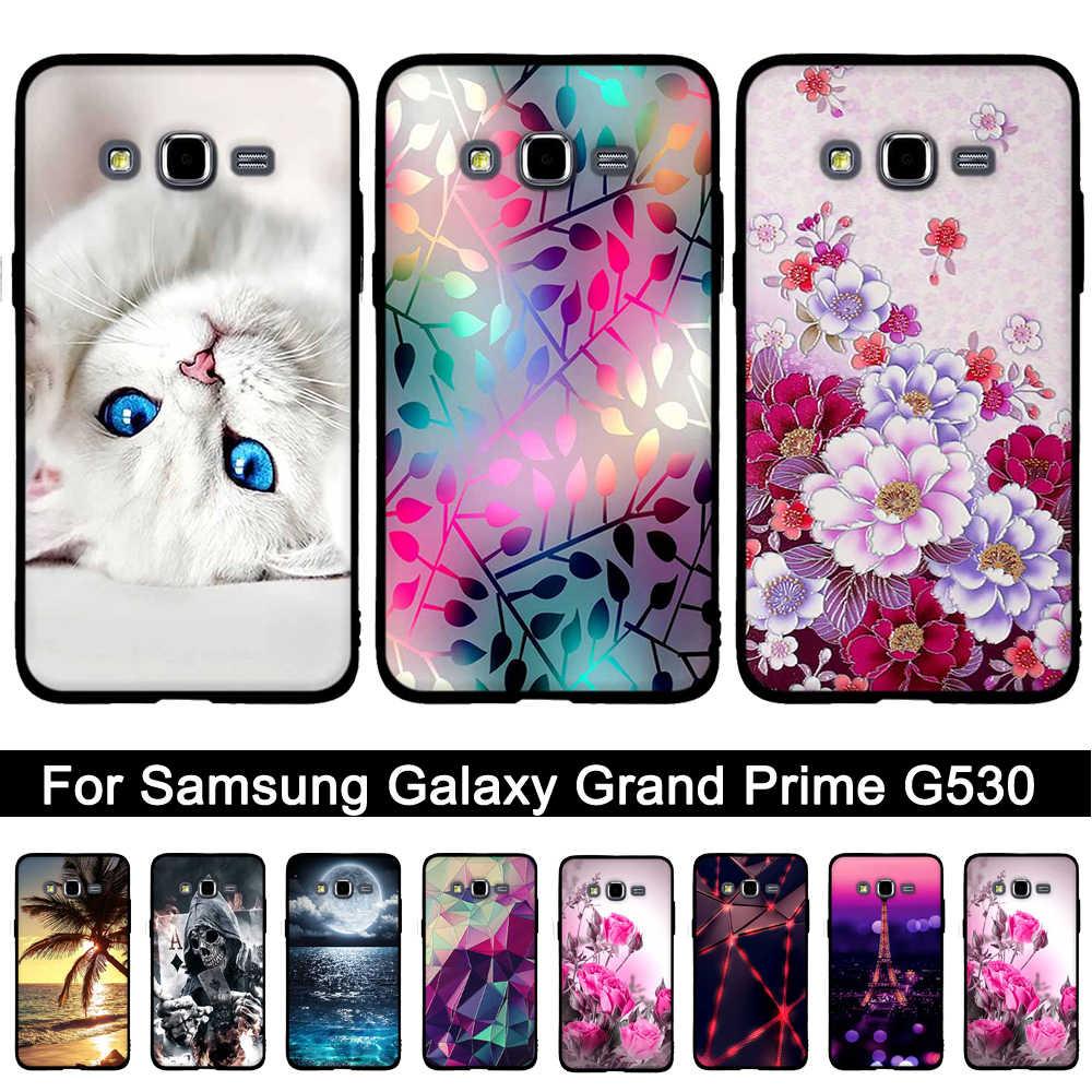 for Samsung Galaxy Grand Prime Case Soft Silicone Phone Case Coque ...