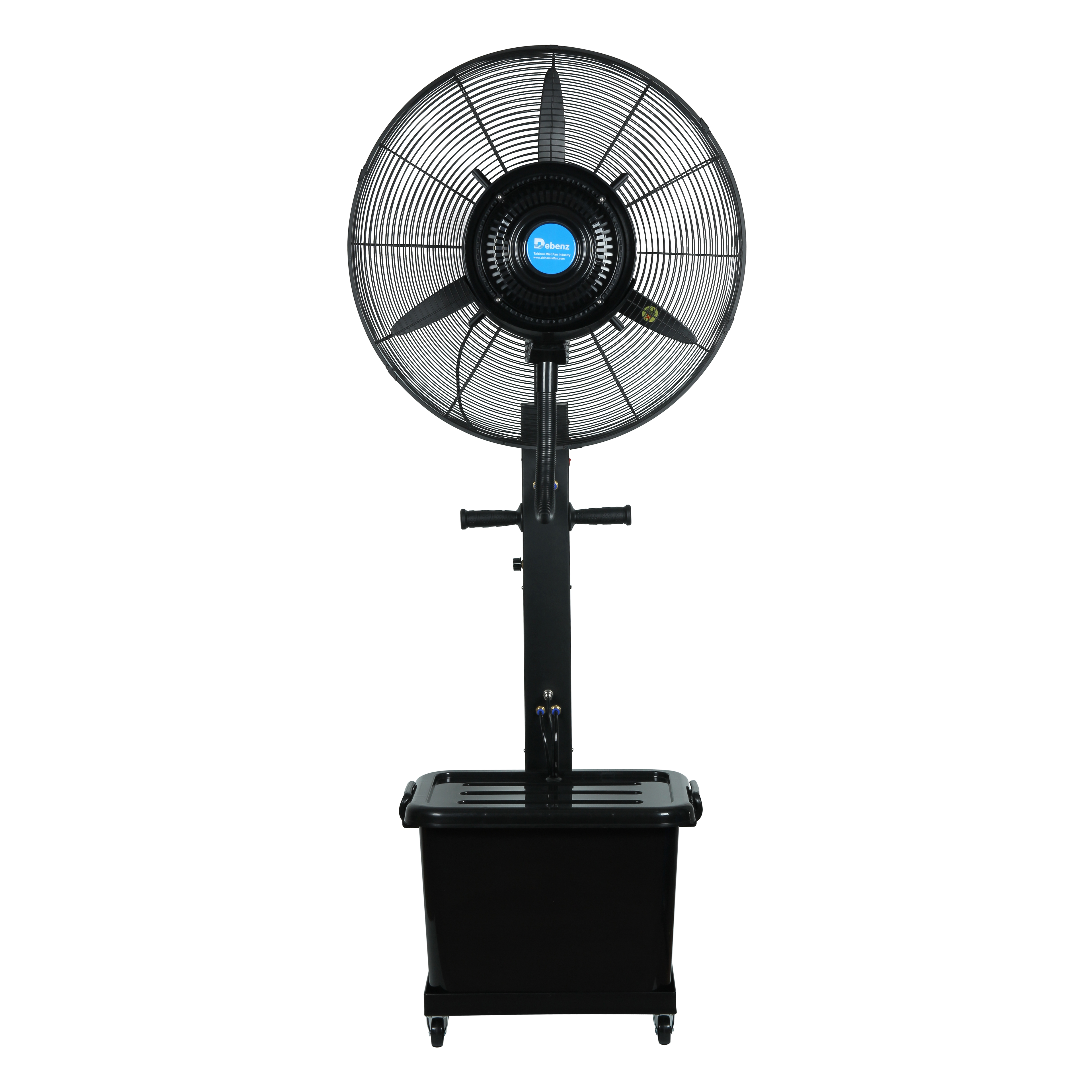 Floor Type Reinforced Spray Fan,mobile Cooling Atomizing Fan, Industrial Commercial Factory Outdoor Fan Humidifying Fan