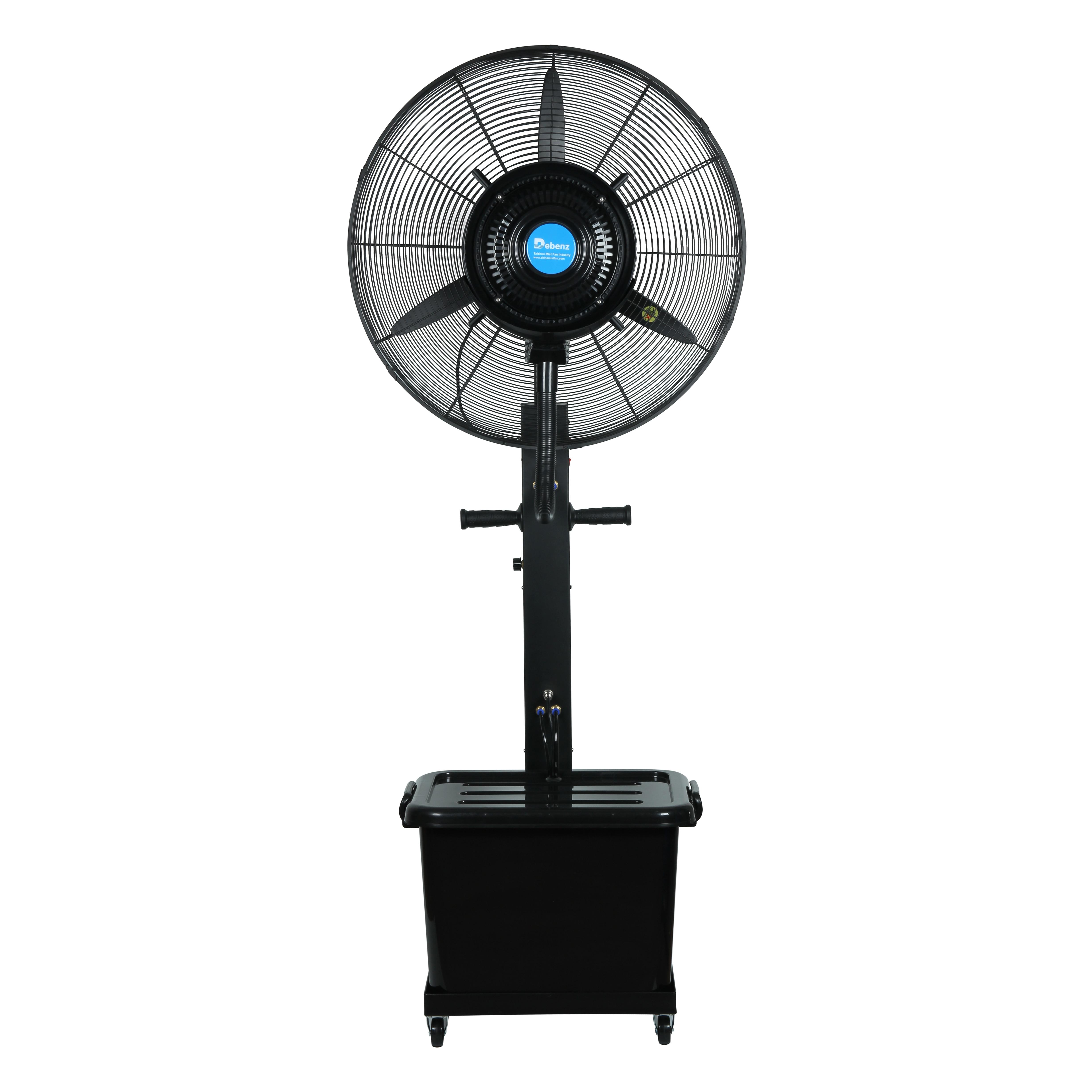 Floor Type Reinforced Spray Fan,mobile Cooling Atomizing Fan, Industrial Commercial Factory Outdoor Fan Humidifying Fan